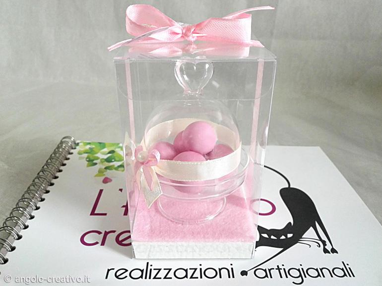Mini alzatina in vetro - Angolo Creativo Bomboniere per ...