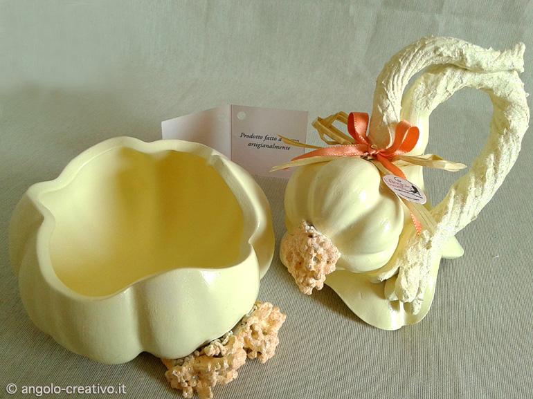 Contenitore da cucina artigianale aglio arredo idea regalo