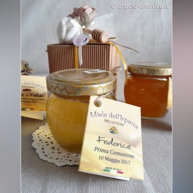 Bomboniera miele Millefiori