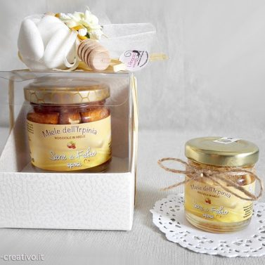 Bomboniera miele Nocciole