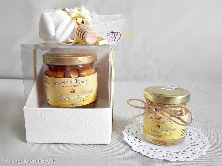 Molto Bomboniere con miele - Angolo Creativo Bomboniere MW56