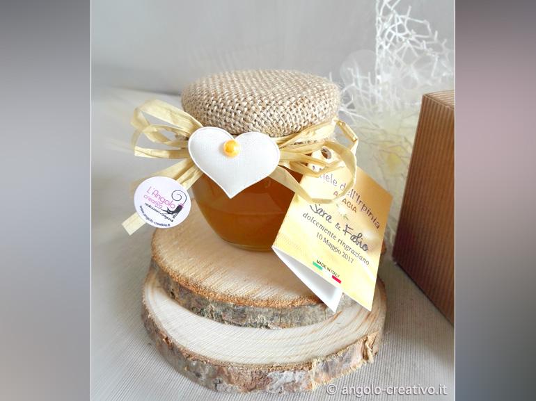 Super Bomboniere con miele - Angolo Creativo Bomboniere SL04