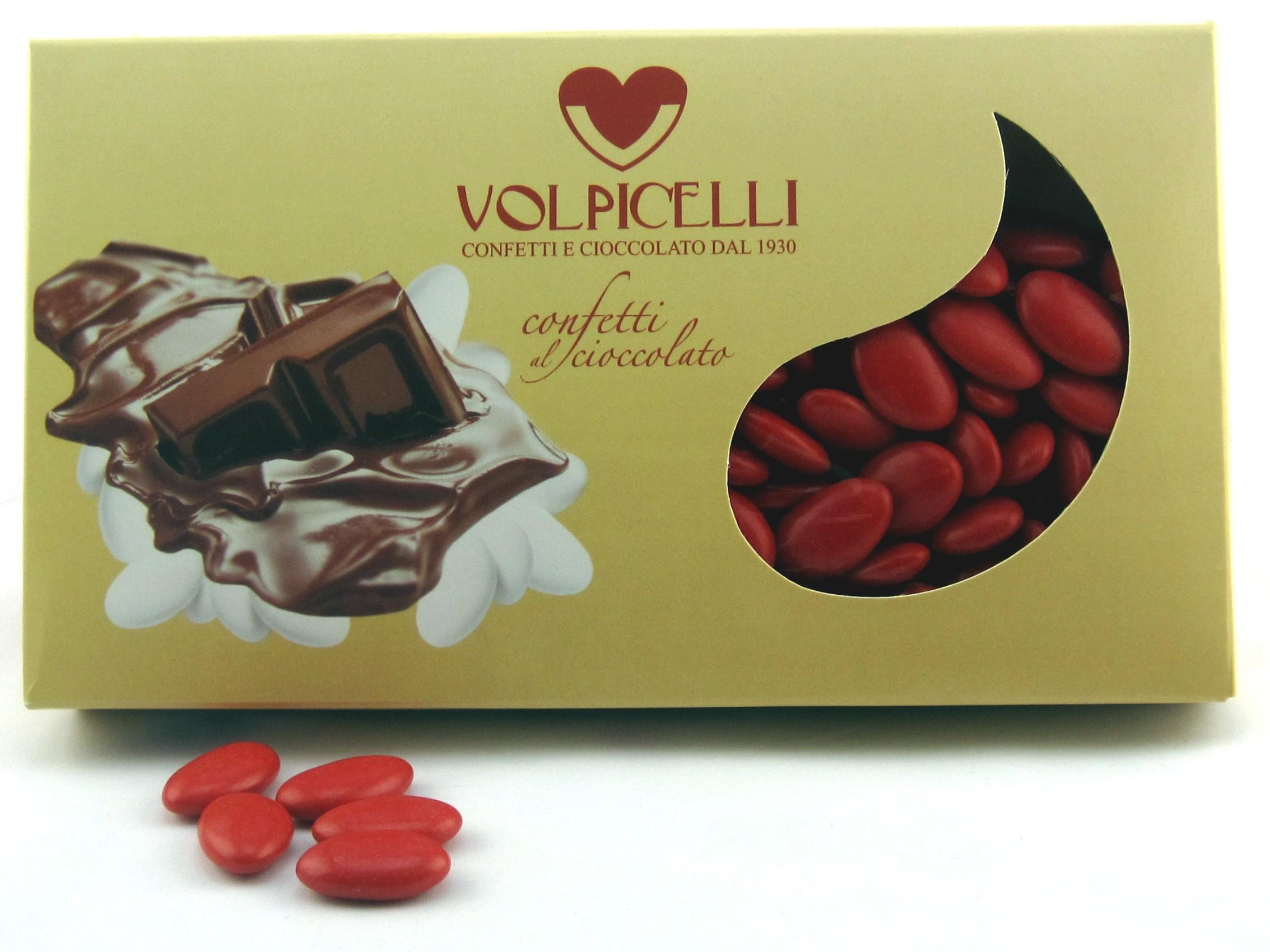 Chocolate Confetti - red - Angolo Creativo Bomboniere per matrimonio